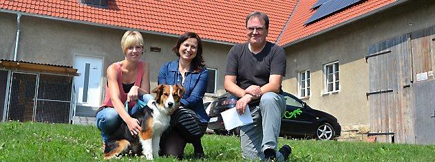 Tierheim Jena bekommt Besuch von Anja Siegesmund.